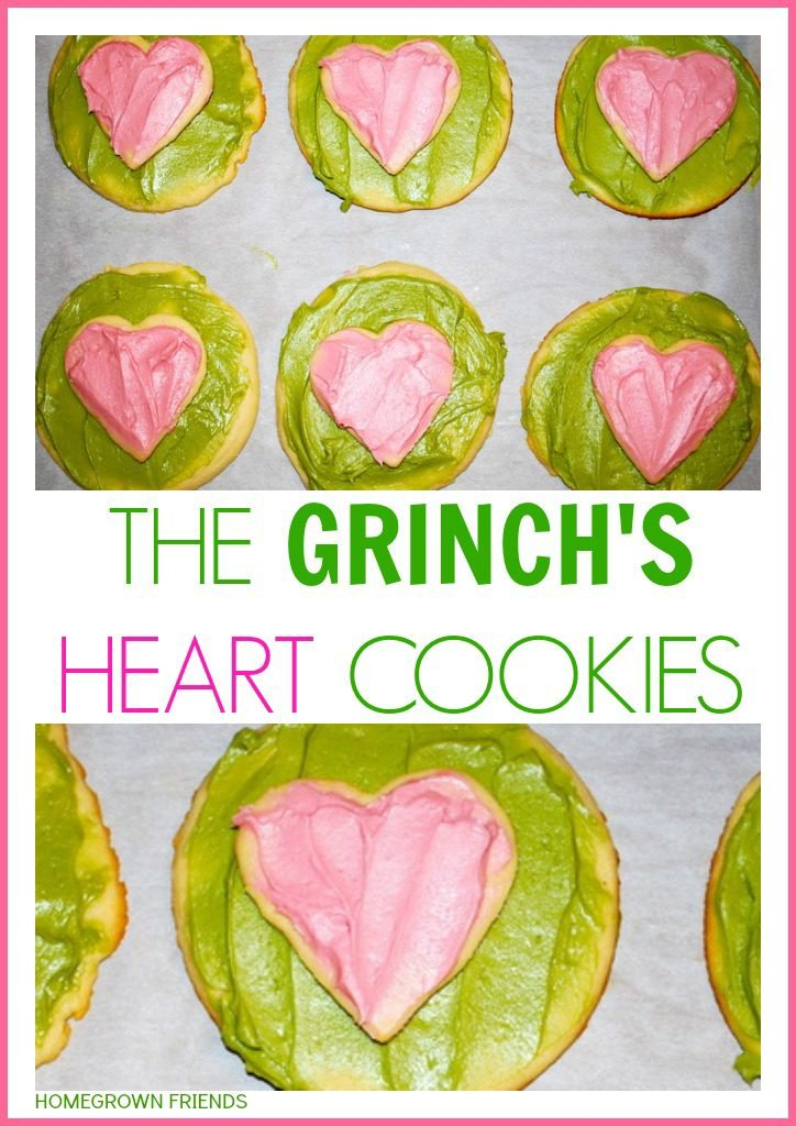 The Grinch's Heart Cookies