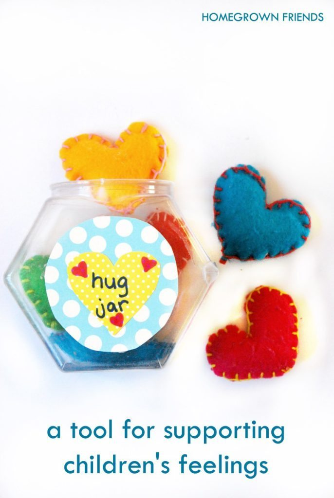 The Hug Jar: A tool for validating the feelings of children