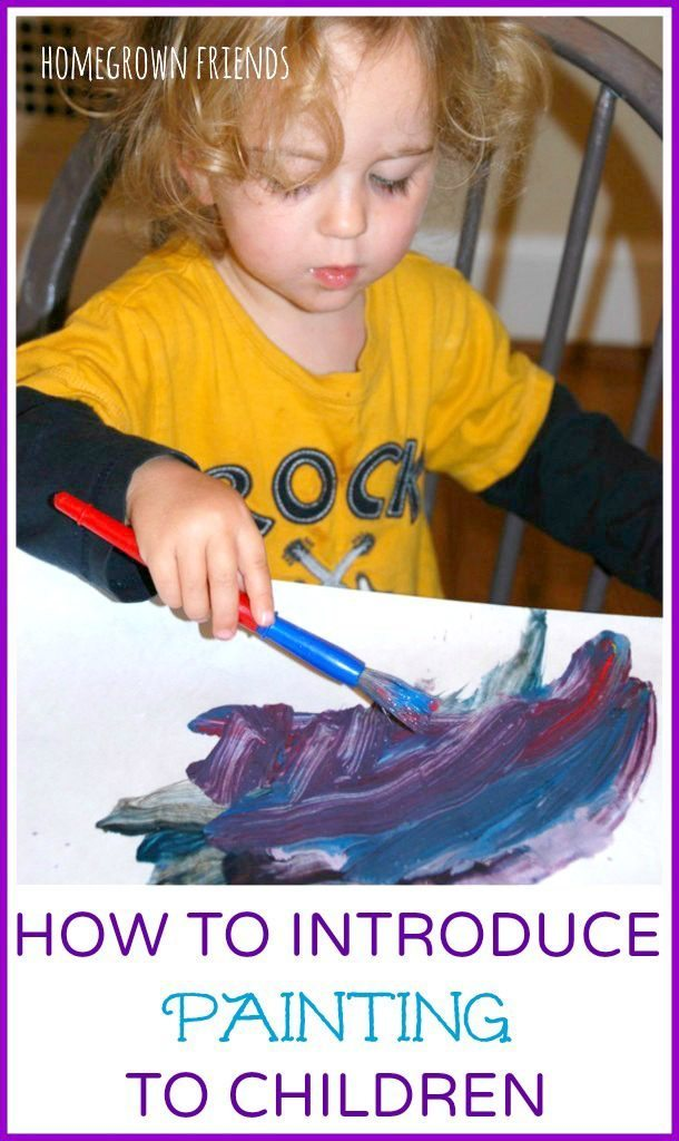 How to Introduce Painting to Children