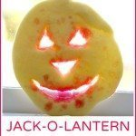 Stained Glass Jack-O-Lantern Cookies