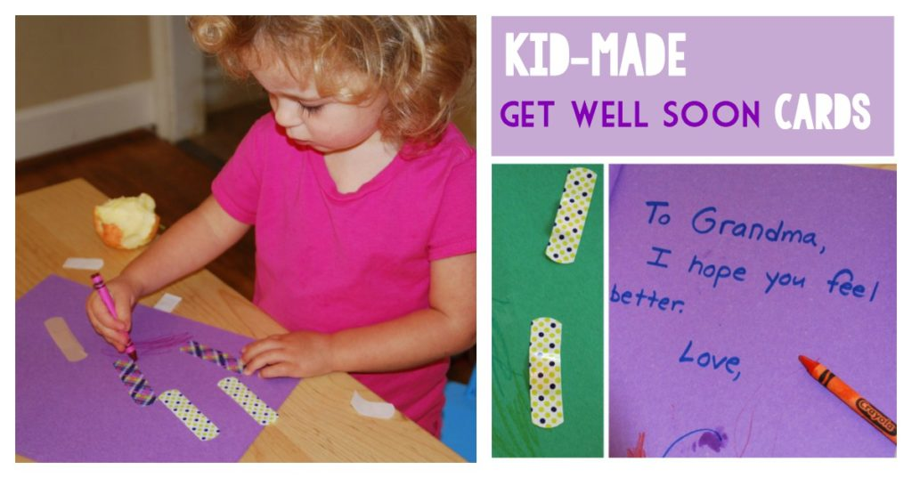 Kid-Friendly Get Well Soon Cards