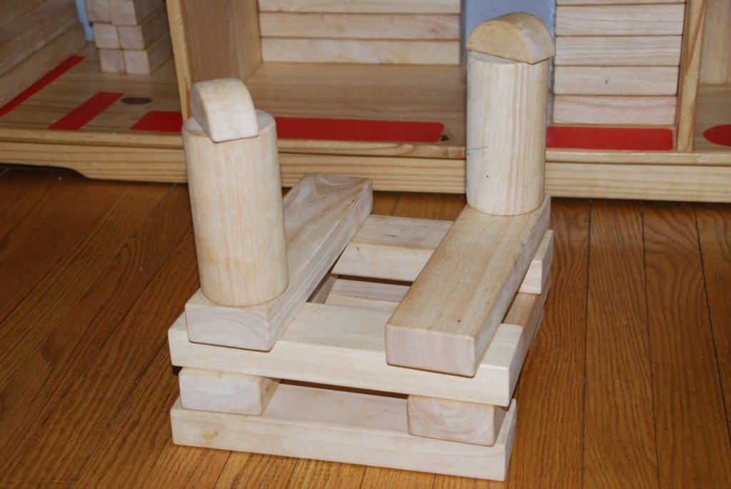 Introduction to Block Building with Children: stage 5
