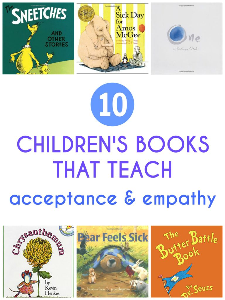 10 Children's Books That Teach Acceptance and Empathy
