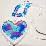 Suncatcher Heart Necklaces