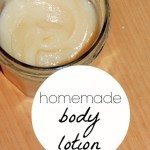 Homemade Body Lotion