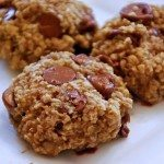 delicious and healthy chocolate chip banana oat cookie recipe
