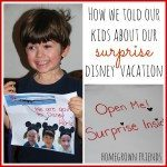 How We Told Our Kids About Our Disney Vacation