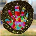 Handprint Suncatchers