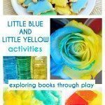 Little Blue and Little Yellow Activities