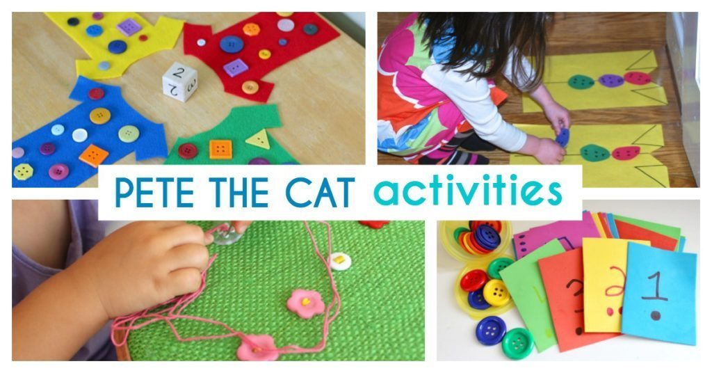 Pete the Cat and His Four Groovy Buttons Activities