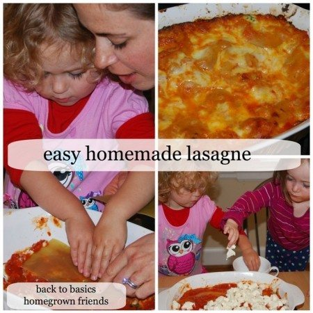 Easy Homemade Lasagne