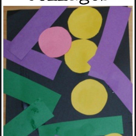 Simple Shape Collages
