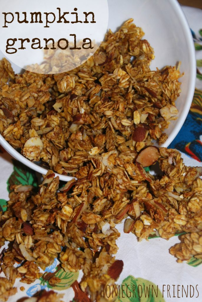 Pumpkin Granola - Homegrown Friends