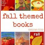 fall themed books from Homegrown Friends