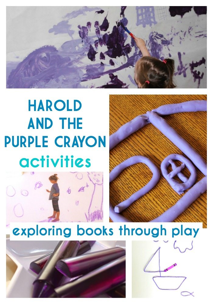 Harold and the Purple Crayons Activities
