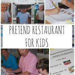 Pretend Restaurant for Kids