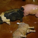 Muddy Farm Animals Sensory Activity