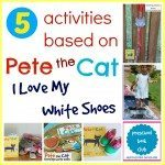 Pete the Cat I Love My White Shoes Activities