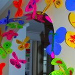 Easy Paper Butterflies Craft