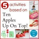 10 Apples Up on Top! Activities