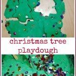 Christmas Tree Playdough