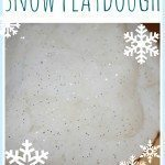 Snow Playdough