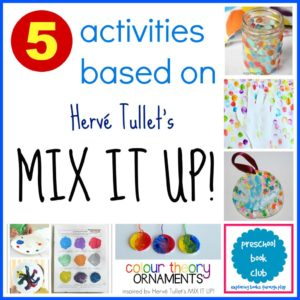Mix It Up! Activities for Preschool Book Club