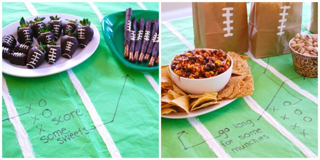 add fun football plays to your football party planning