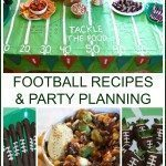 Football Recipes and Party Planning