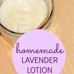 Homemade Lavender Lotion