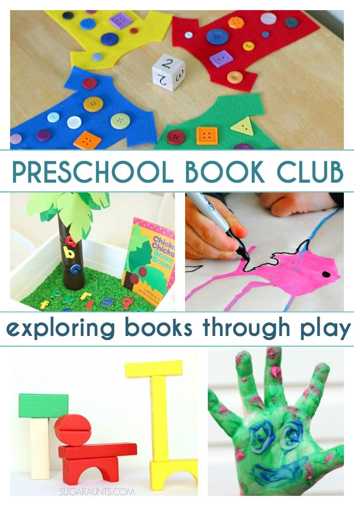 Preschool Book Club: Exploring Books Through Play