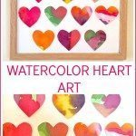 Watercolor Heart Art