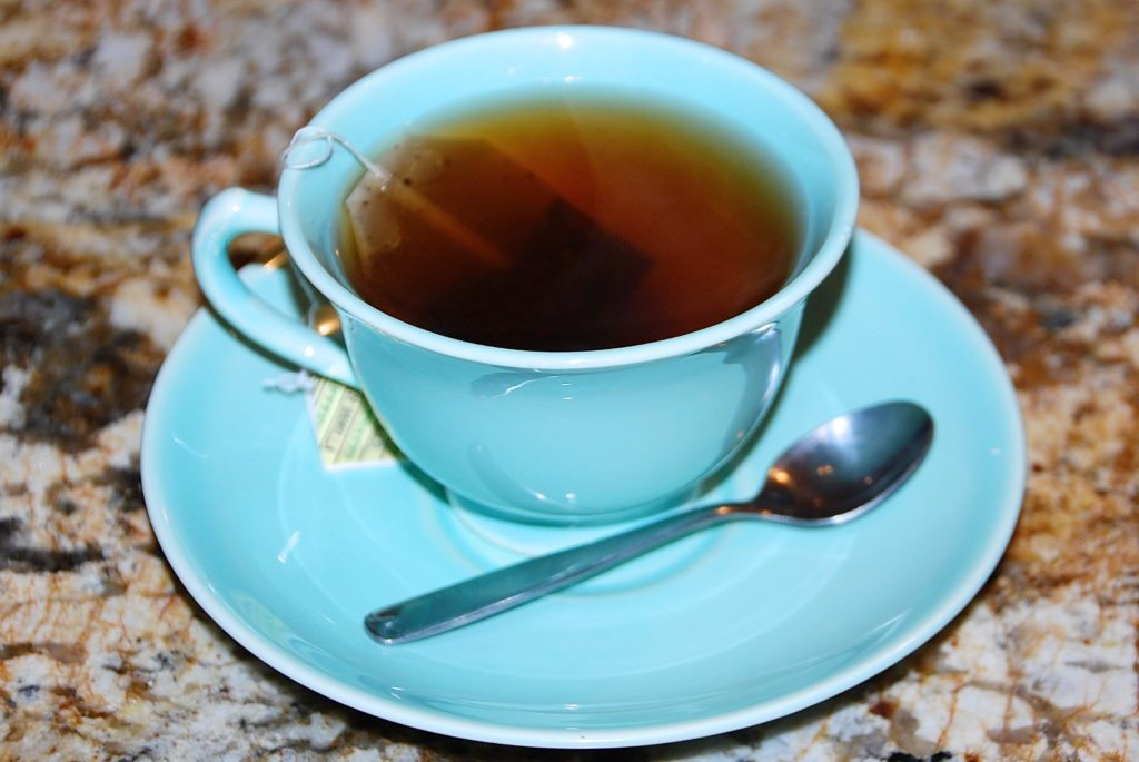 kids love using really teacups when having tea time with kids