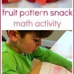 Fruit Pattern Snack Math Activity