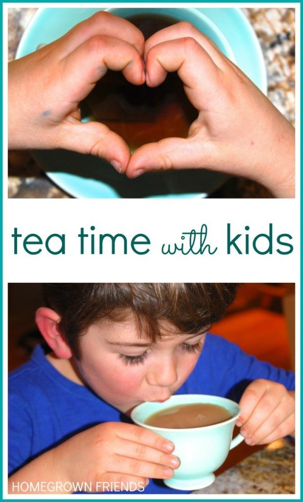 The Importance of Tea Time with Kids