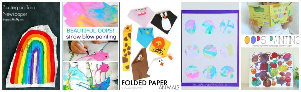 5 Beautiful Oops Inspired Activities