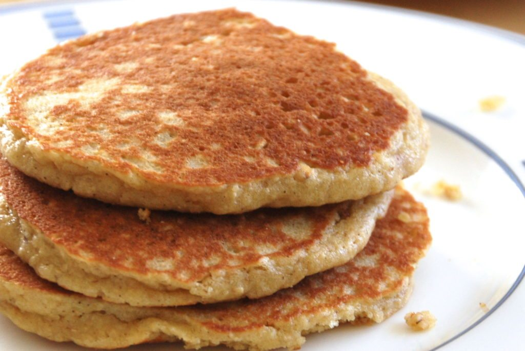 we love these almond oat pancakes