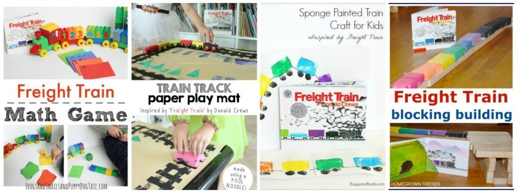 Freight Train Activities from the Preschool Book Club