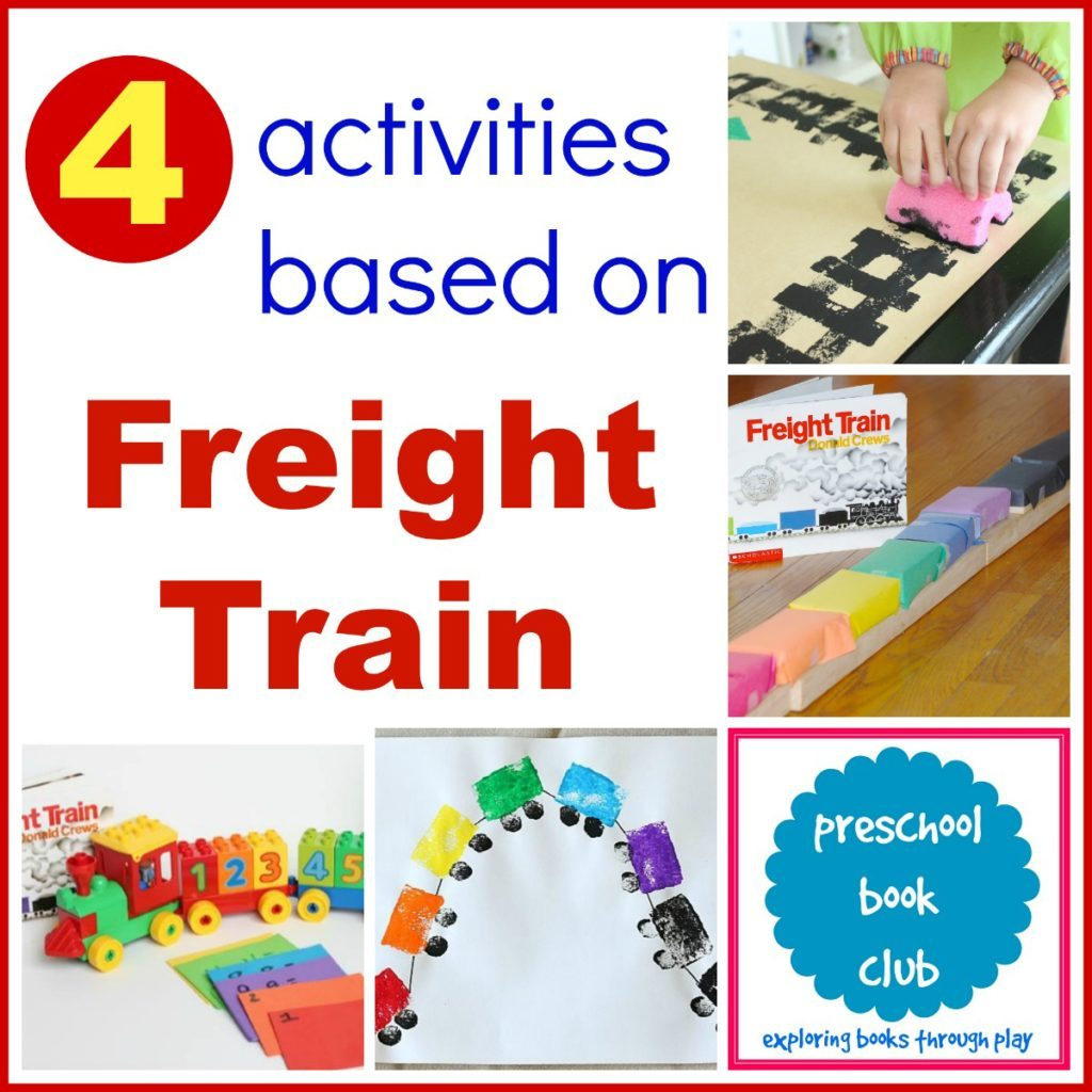 Freight Train Activities from Preschool Book Club