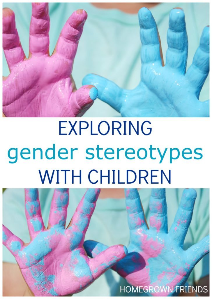 curriculum for exploring gender stereotypes with children