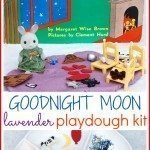 Goodnight Moon Lavender Playdough