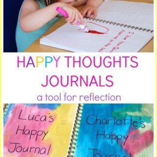 Happy Thoughts Journals for Kids