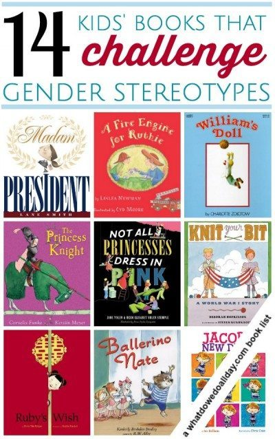 Children's Literature is one way of exploring gender stereotypes with children