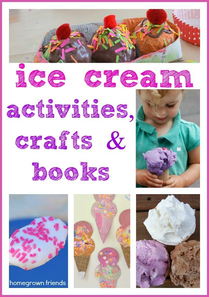 ice cream theme activities and books
