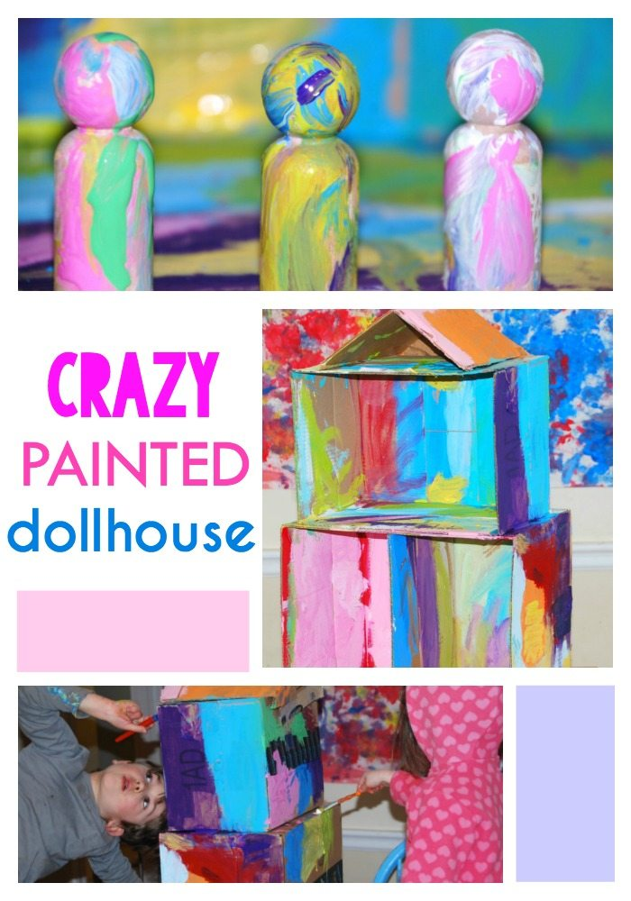 I Ain't Gonna Paint No More Cardboard Dollhouse