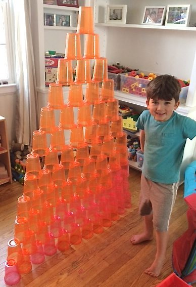creating pyramids is one of the 5 ways to play with <a href=
