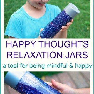 Happy Thoughts Relaxation Sensory Jars