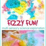 Multi-Sensory Baking Soda Vinegar Experiment