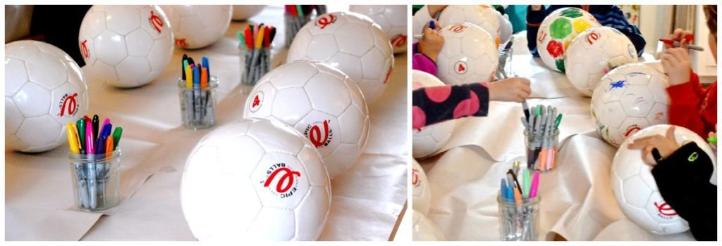 Soccer Themed Birthday Party- activity
