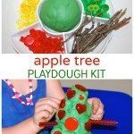 Apple Tree Playdough Kit